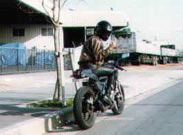 2001年、カスタムKDX