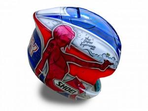 鈴鹿8耐ヘルメット