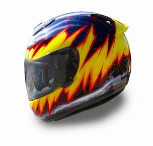 ヘルメットカスタムペイント
