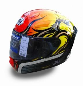 ヘルメット ペイント