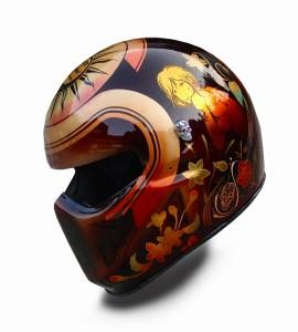 和柄ヘルメット カスタムペイント