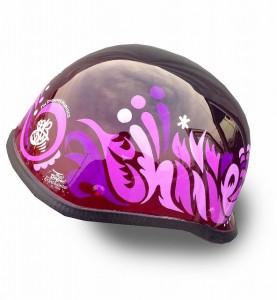 ヘルメットペイント かわいい