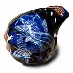 ヘルメット 和柄 鯉