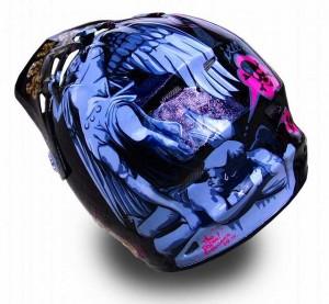 ヘルメット 塗装