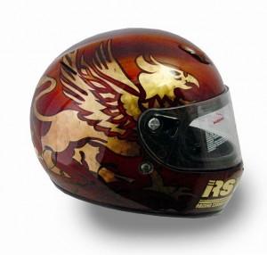 ヘルメットペイント