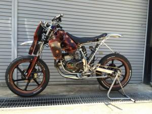 CRM80 モタード カスタム
