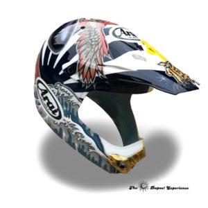 縁起の良いヘルメット