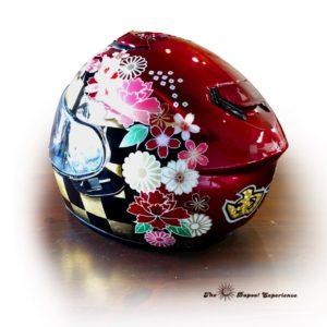 和柄ヘルメット
